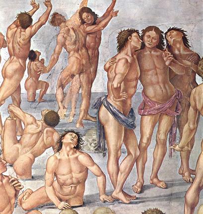 Fresques de Luca Signorelli et Sandro Botticelli