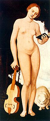 La Música, 1529, Hans Baldung Grien, Munich, Alte Pinakothek