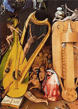 El Bosco, El Infierno musical, Jardín de las delicias