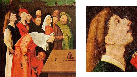El escamoteador, 1475-1480, El Bosco, Saint-Germain-en-Laye