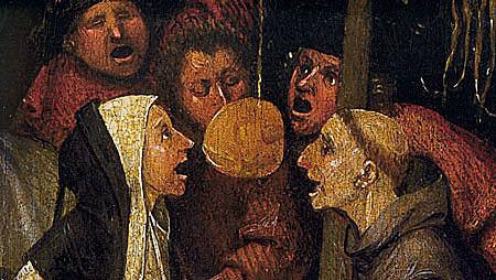 La nave de los locos, hacia 1490, El Bosco