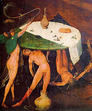 La tentación de san Antonio, El Bosco