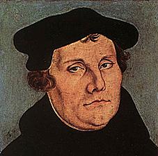 Retrato de Lutero, Lucas Cranach, 1529