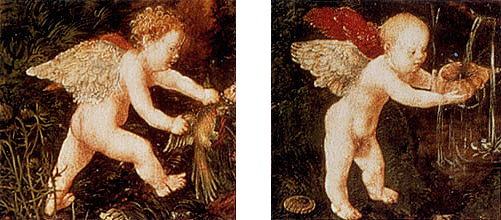 El reposo en la huída a Egipto, 1504, Lucas Cranach