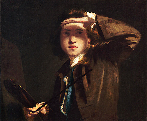 Autorretrato, 1747-48, Joshua Reynolds, Londres, National Gallery