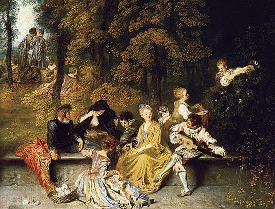Le Rococo Un Art Du Xviiie Siecle